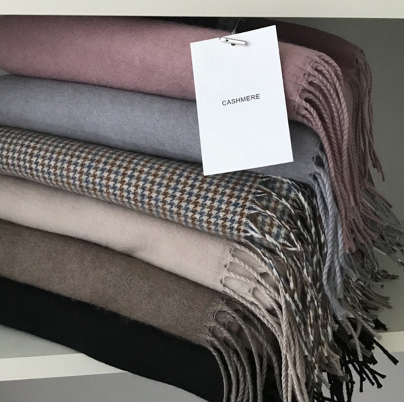 Cashmere Muffler (6color)